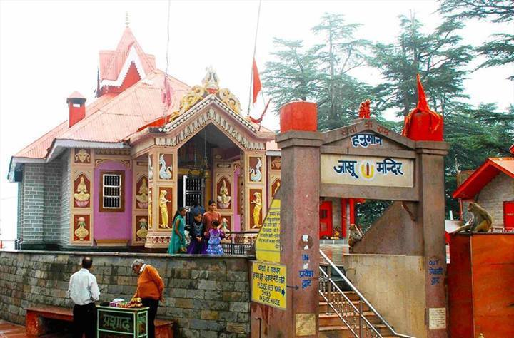 Jakhu temple -Best place to visit