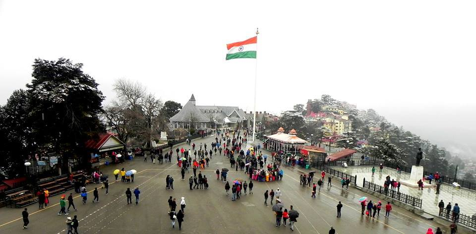 Mall Road Shimla 2016