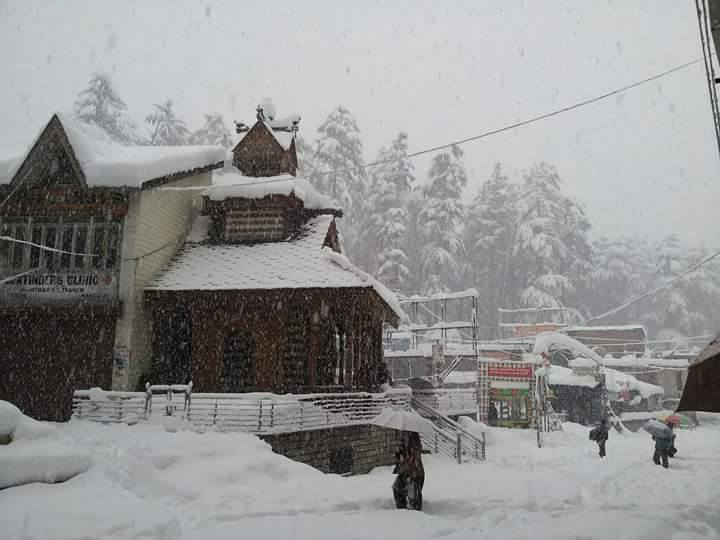 Mall Road Shimla -tourist Place