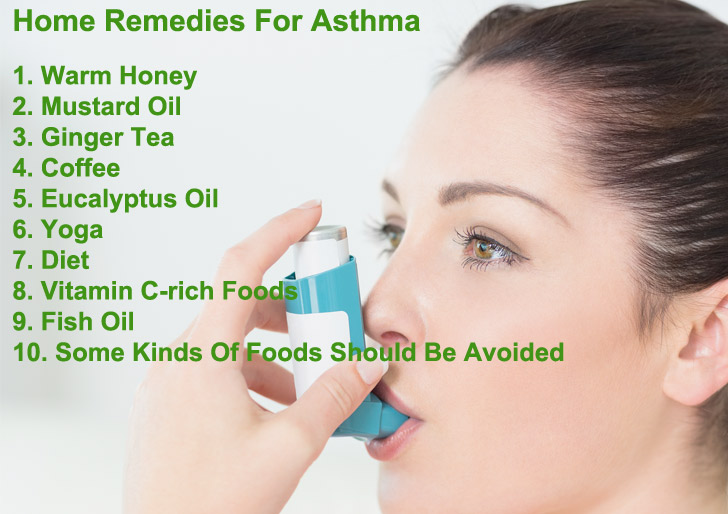 Top 10 Home Remedies For Asthma Attack