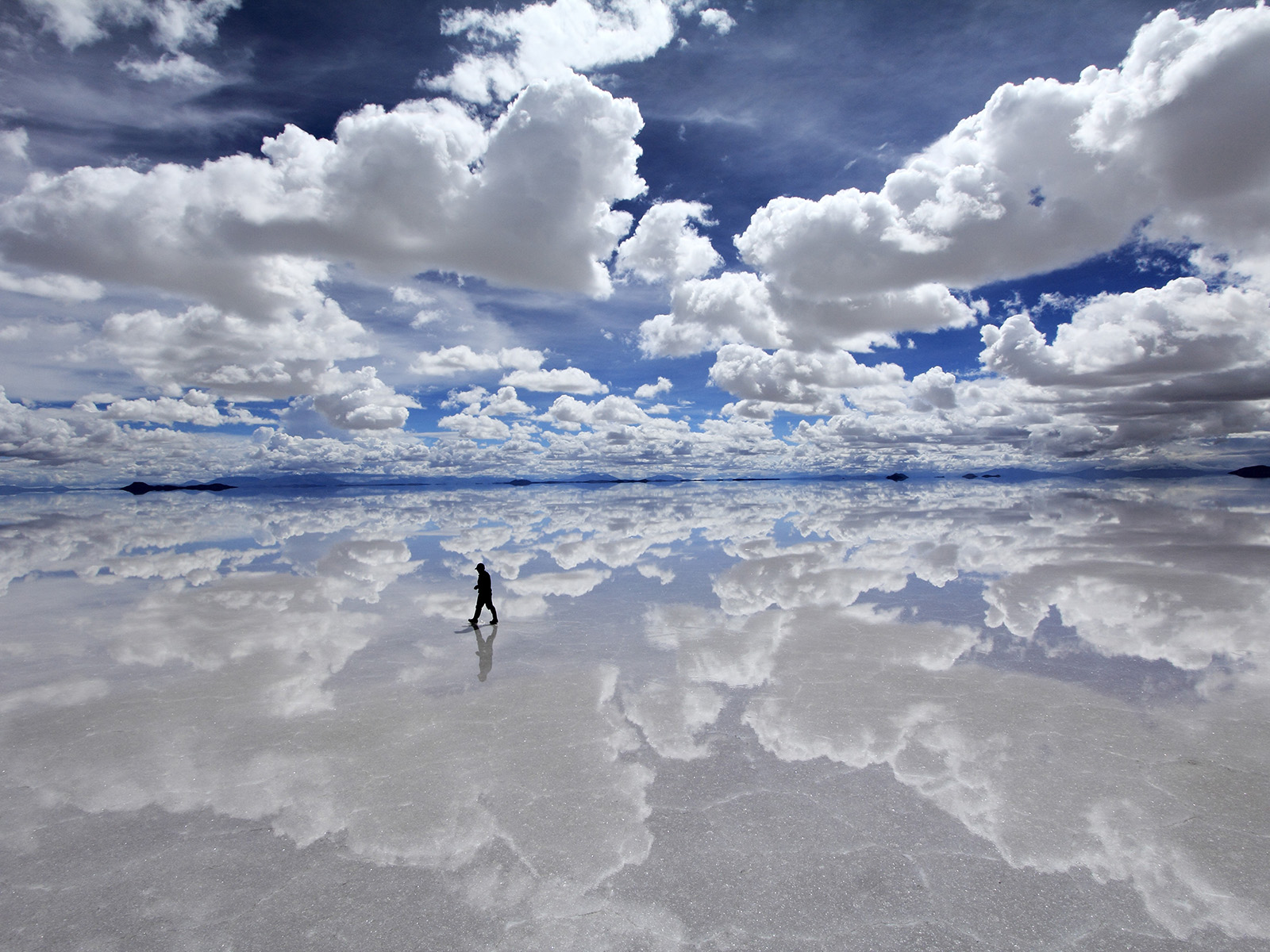 Salar De Uyuni In The Rainy Season
