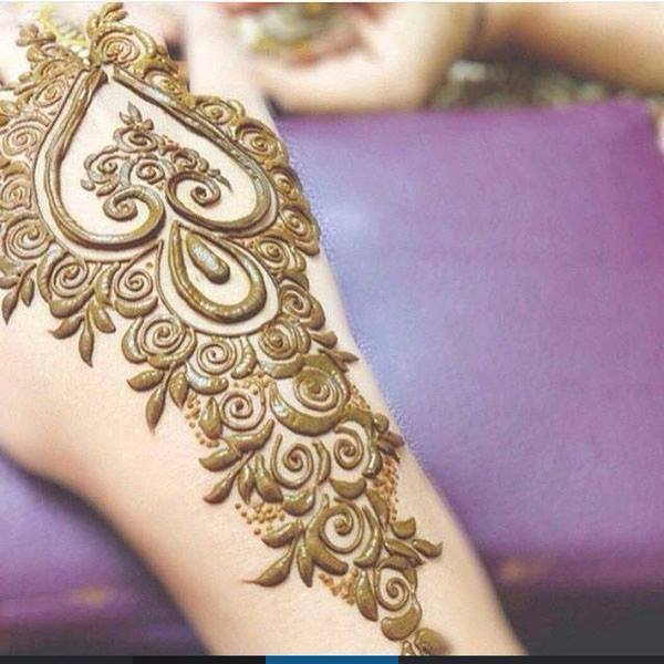 Top 10 Best Easy Arabic Mehndi Designs For karva Chauth