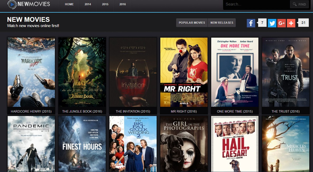 Top 10 Best Free Movie Streaming Sites 2016 For Watching