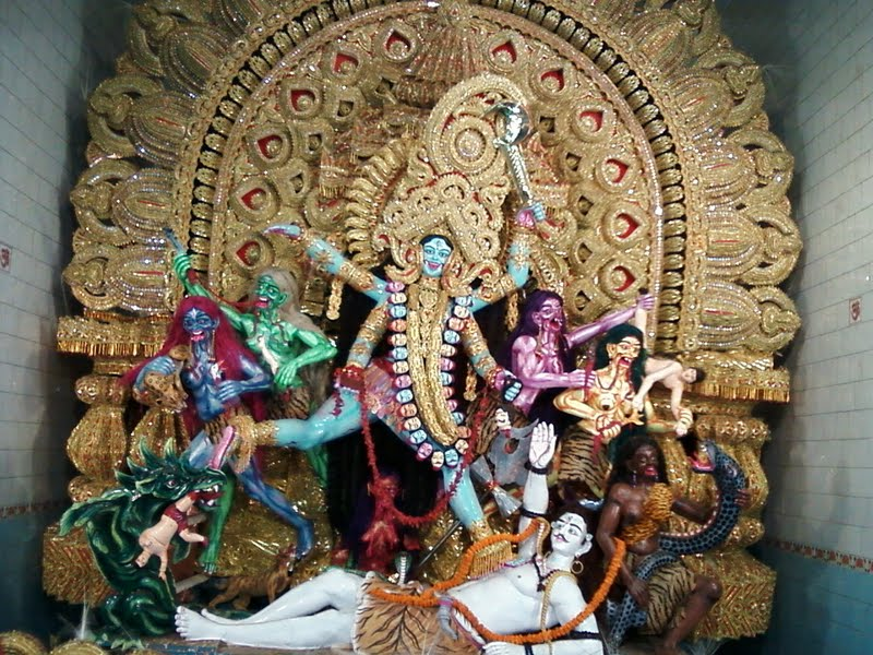 Committed to kali pujo in Bengal