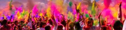 Holi 2018 Festival of fun, laughter and joy with splash of color