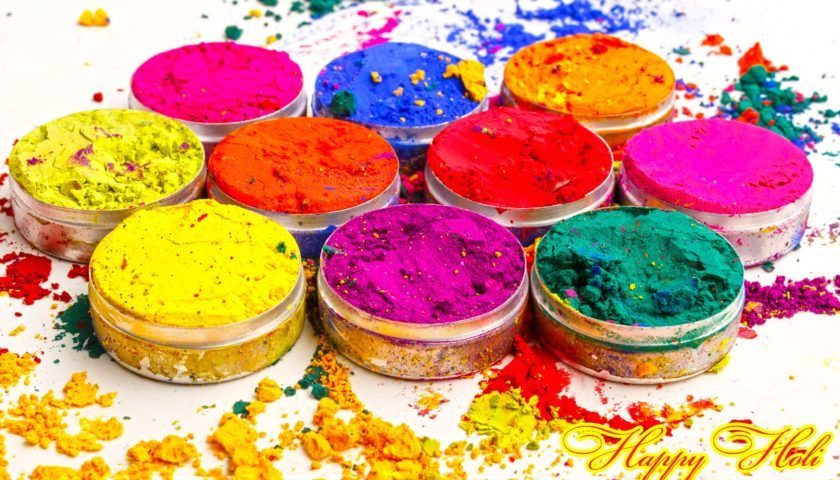 Celebrating Colorful Sparkling Holi 2018