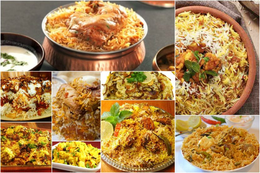 Top 10 Biryanis in India