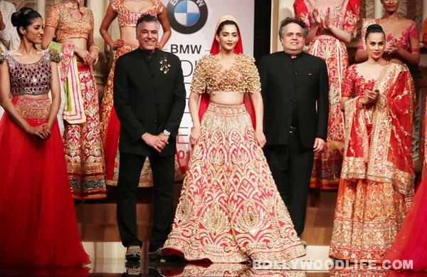 Top 10 Wedding Dresses that Sonam Kapoor can Rock in when Marrying Anand Ahuja