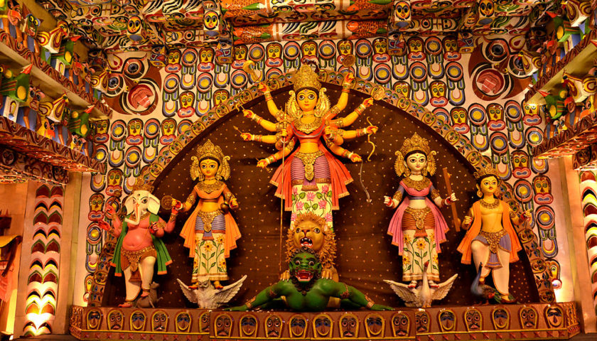 Enjoy Pandal Hopping in Kolkata
