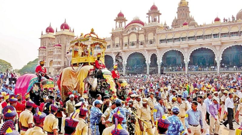 Enjoy the Jumbo Savari in Mysore