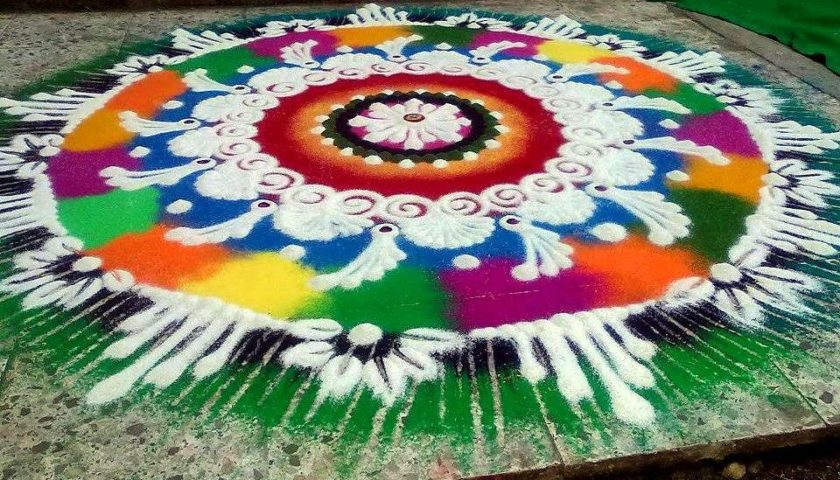 Popular names of rangoli