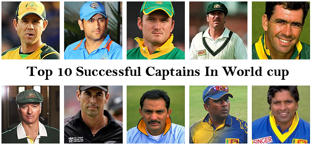 Top 10 Successful Captains In World cup
