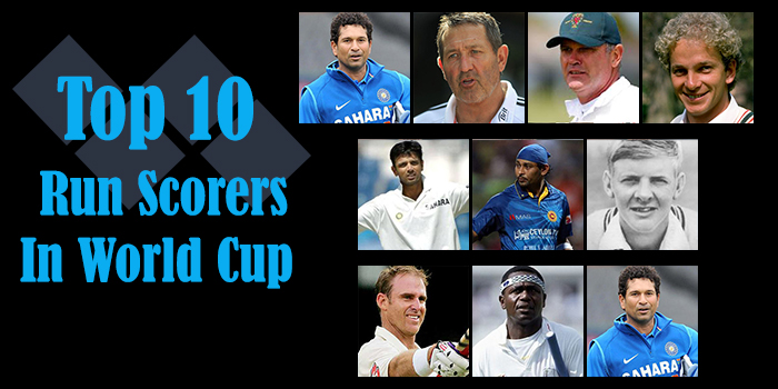 Top 10 Run Scorers In World Cup