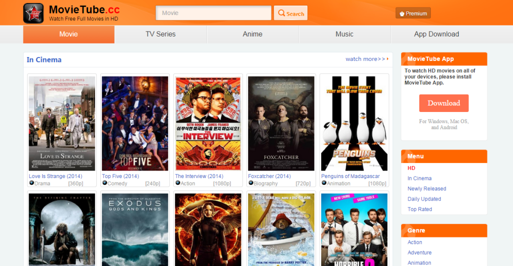 Top 10 Best Movies Streaming Sites 2016 For Watching Movies