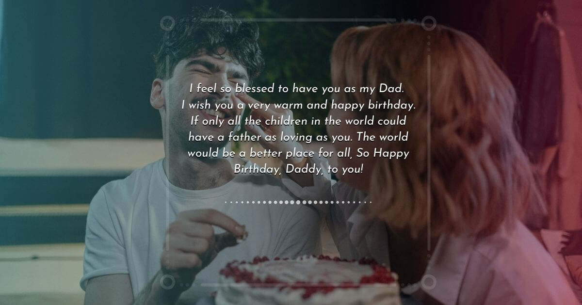 Birthday wish for father