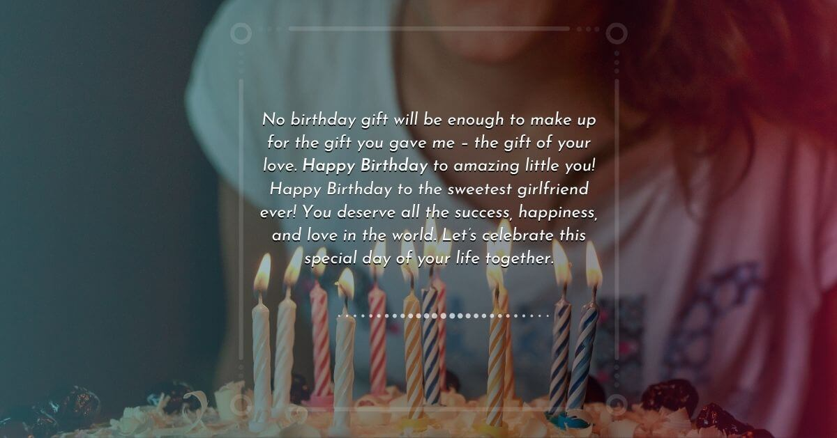 Birthday wish for your special girl
