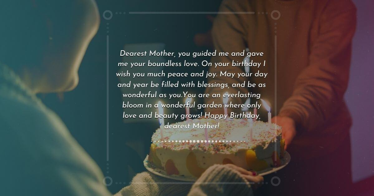 Birthday wish for mother