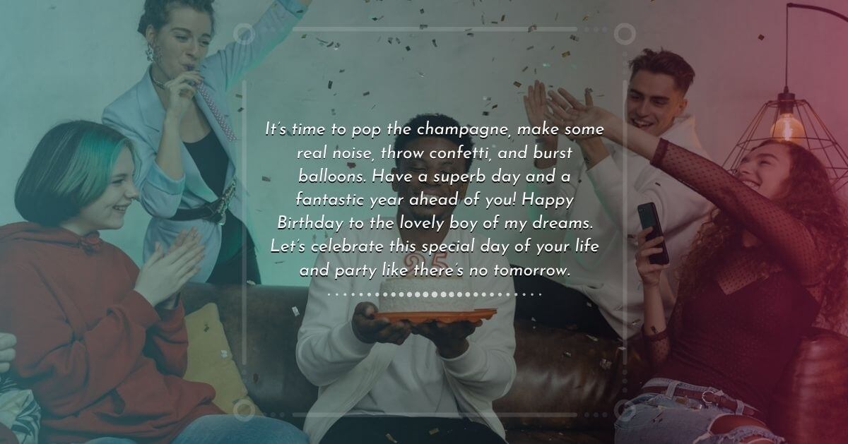 Birthday wish for special boy