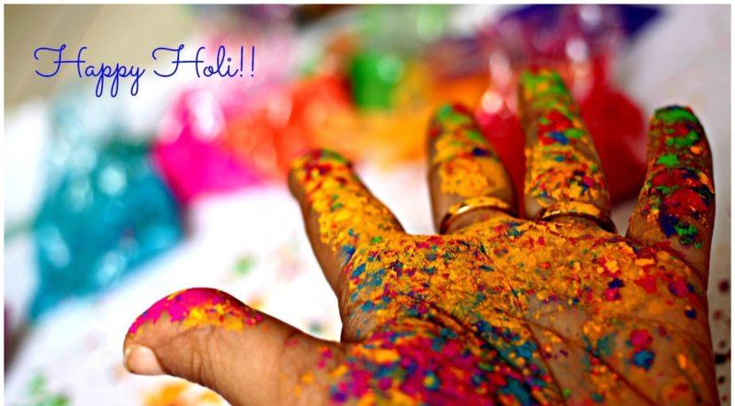 Celebrating Colorful Sparkling Holi 2019