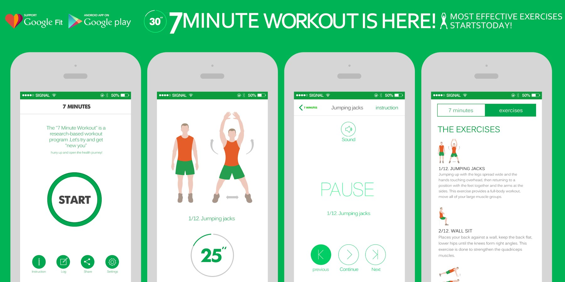 best free exercise apps for android