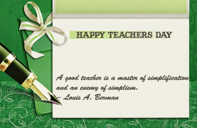 Top 10 Messages to Write on Teacher's Day Card