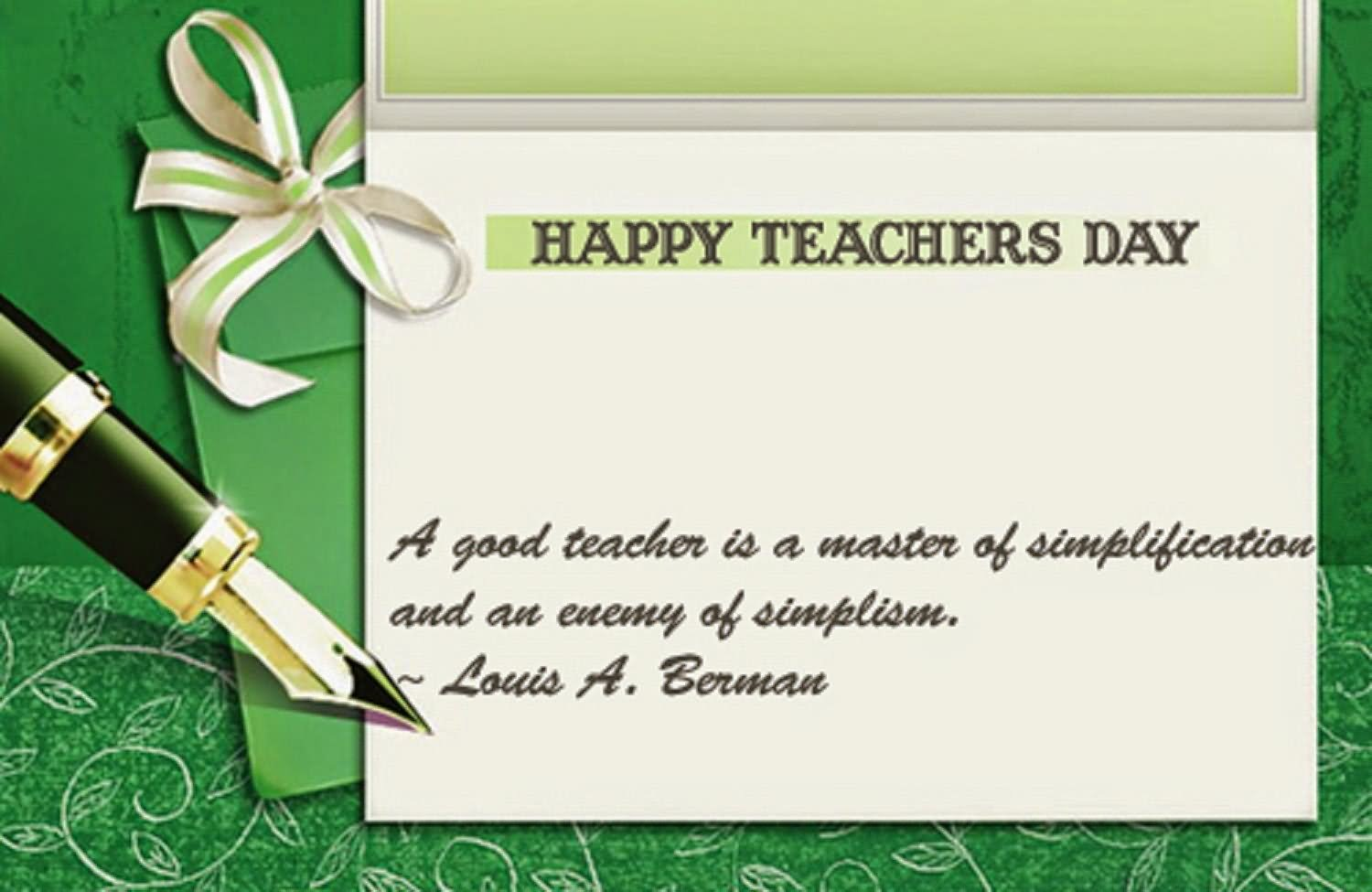 Teachers Day Card Message Messages To Write On Teacher S