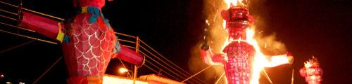 A celebration of Vijayadashami throughout India