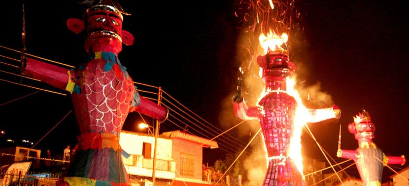 A celebration of Vijayadashmi throughout India