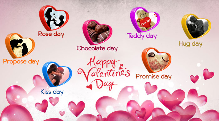 7 Magical Love Days of Valentine Week with Valentines Date Sheet
