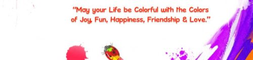 Beautiful Quotes on Colours for Holi