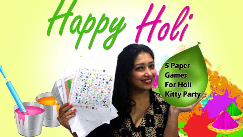 Top 10 Holi Game Ideas for Holi Party