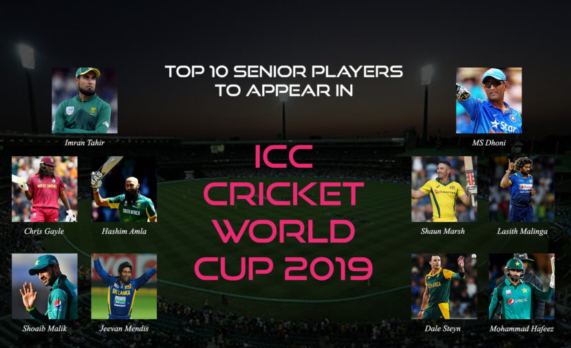 Top 10 Senior Players to Appear In ICC Cricket World Cup