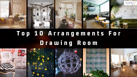 Top 10 Arrangements For Drawing Room