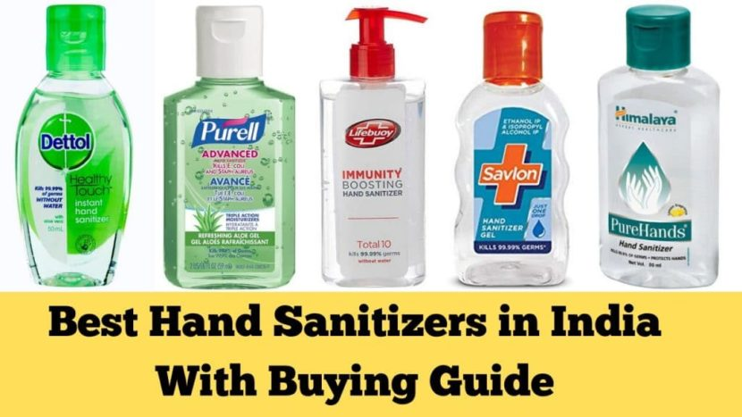 Top 8 Best Hand Sanitizer Brands In India