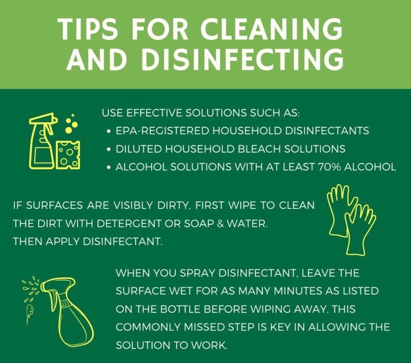 Tips To Clean And Disinfect Your Home During COVID-19