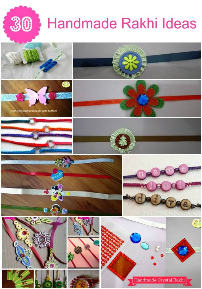 Top 10 Easy DIY Handmade Rakhi Ideas For Kids